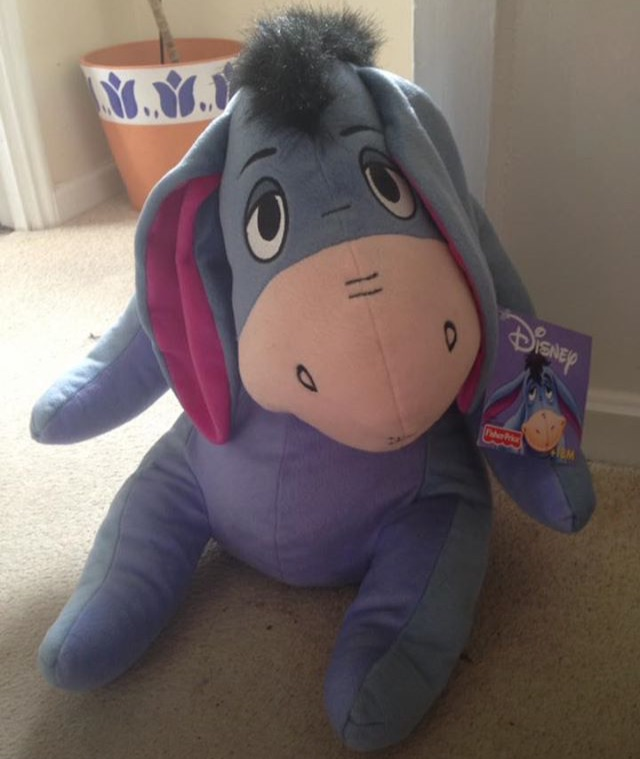 Big Disney Eeyore Teddy