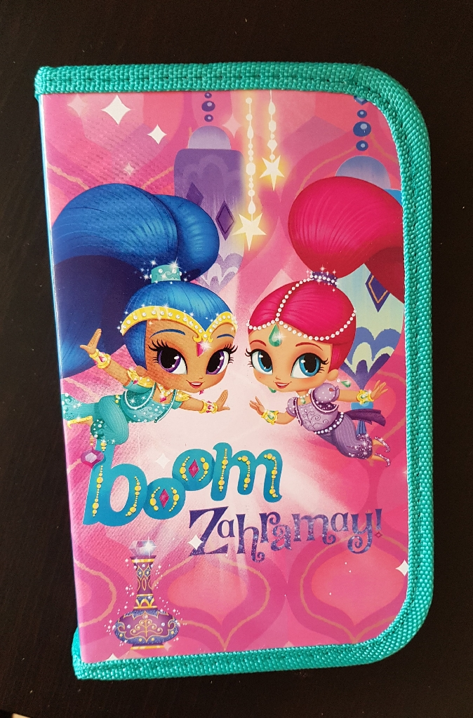 Brand new shimmer and shine filled pencil cases