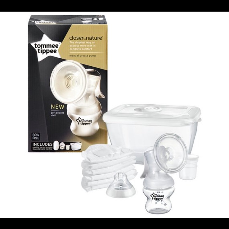 tommee tippee manual breast pump instructions