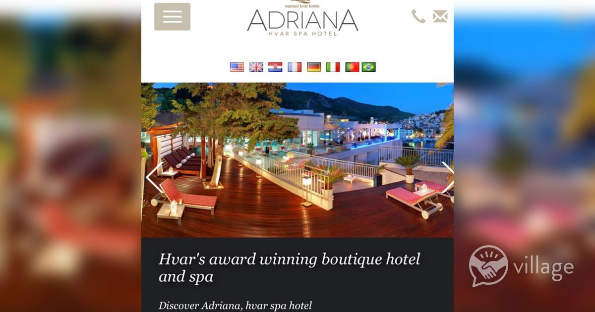 10 Night Stay For Two In 4 Star Spa Hotel Hvar Flights And Transfers Inc Village