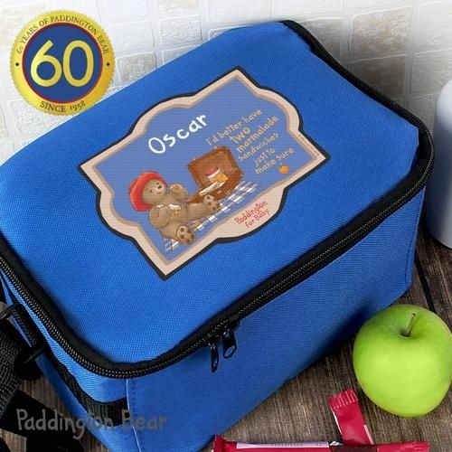 Paddington personalised lunch bag and Bottle