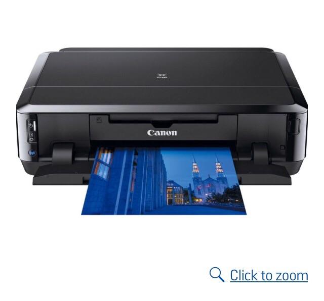 Printer Canon Pixma IP7250 + ink cartridges