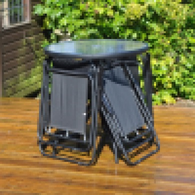 6 PC TEXTILE PATIO SET - NEW LOWER PRICE REDUCED from £149.99 to £74.99 FREE DELIVERY