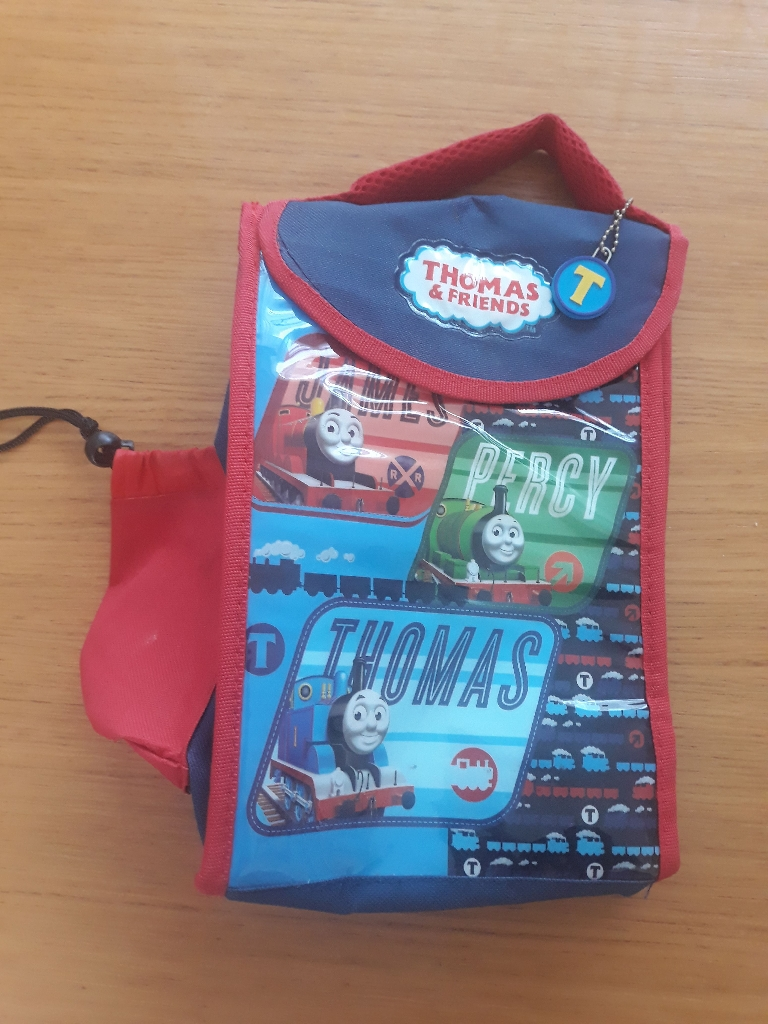 Thomas and friends freezer lunch bag