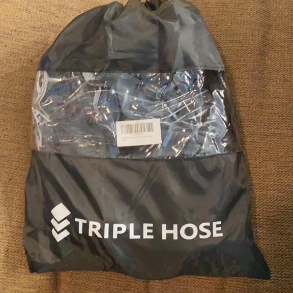 Triple Hose Garden Hose