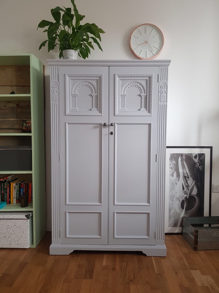 Antique refurbished wardrobe/cabinet/cupboard