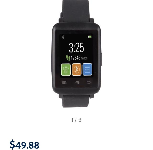 New vivitar smartwatch