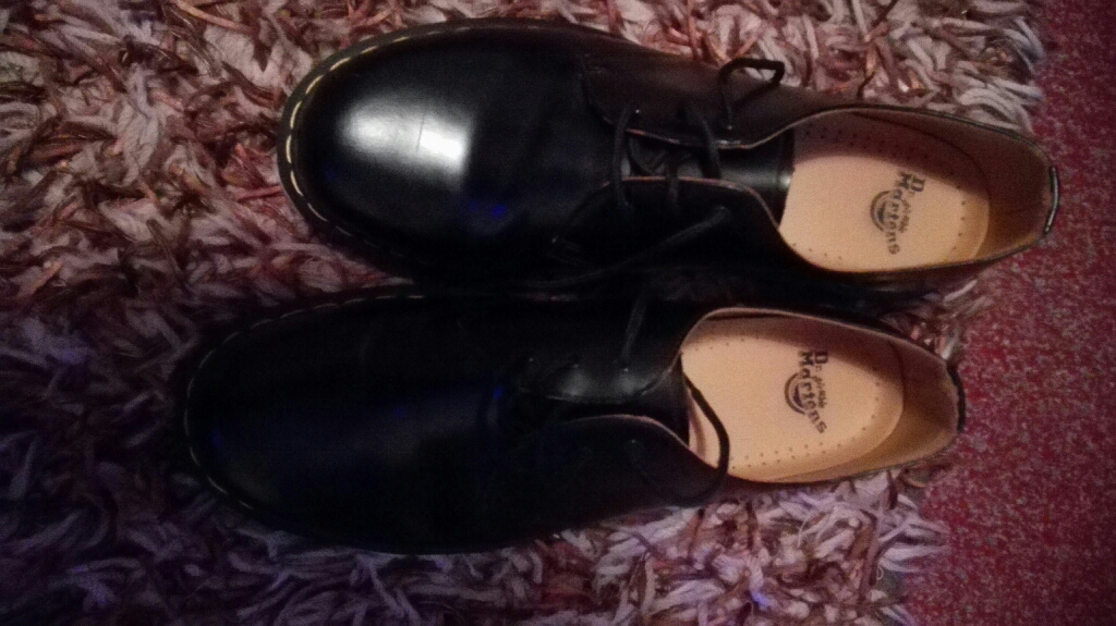 Doctor Martin's size twelve shoes