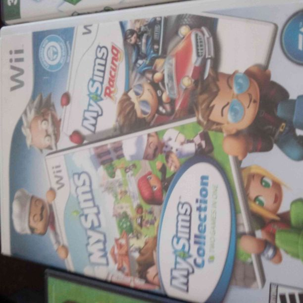 Wii my Sims collection