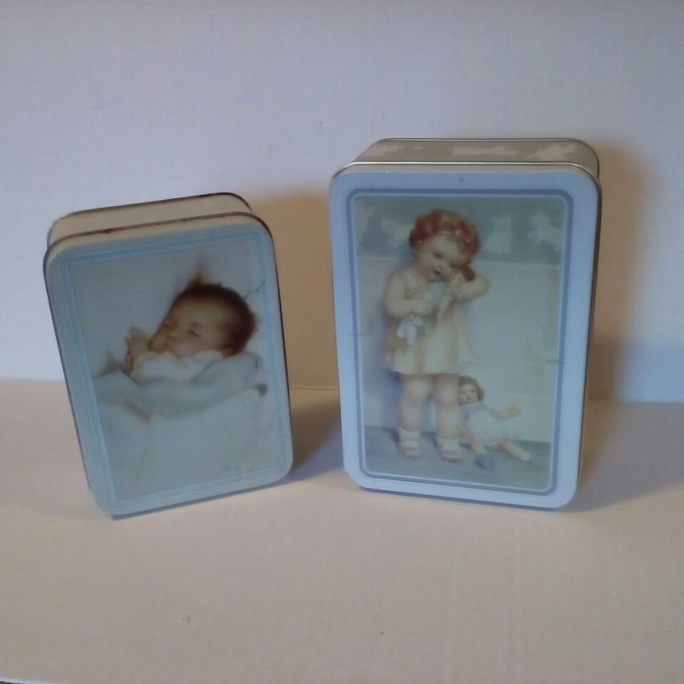 Set of Vintage Tins, Children's