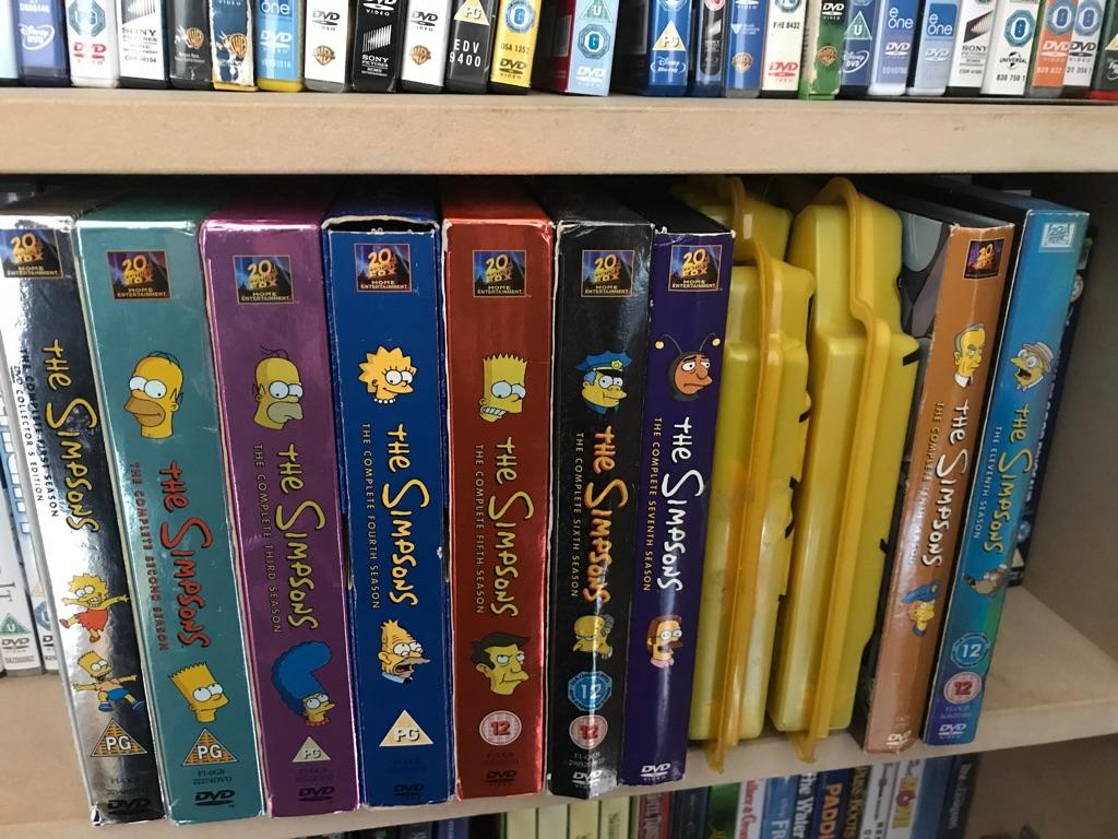 Simpson's DVD's