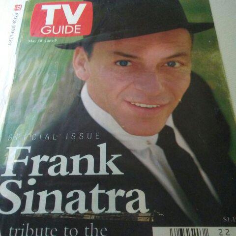 Rare TV guide cover