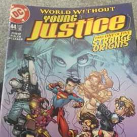 Young justice comic
