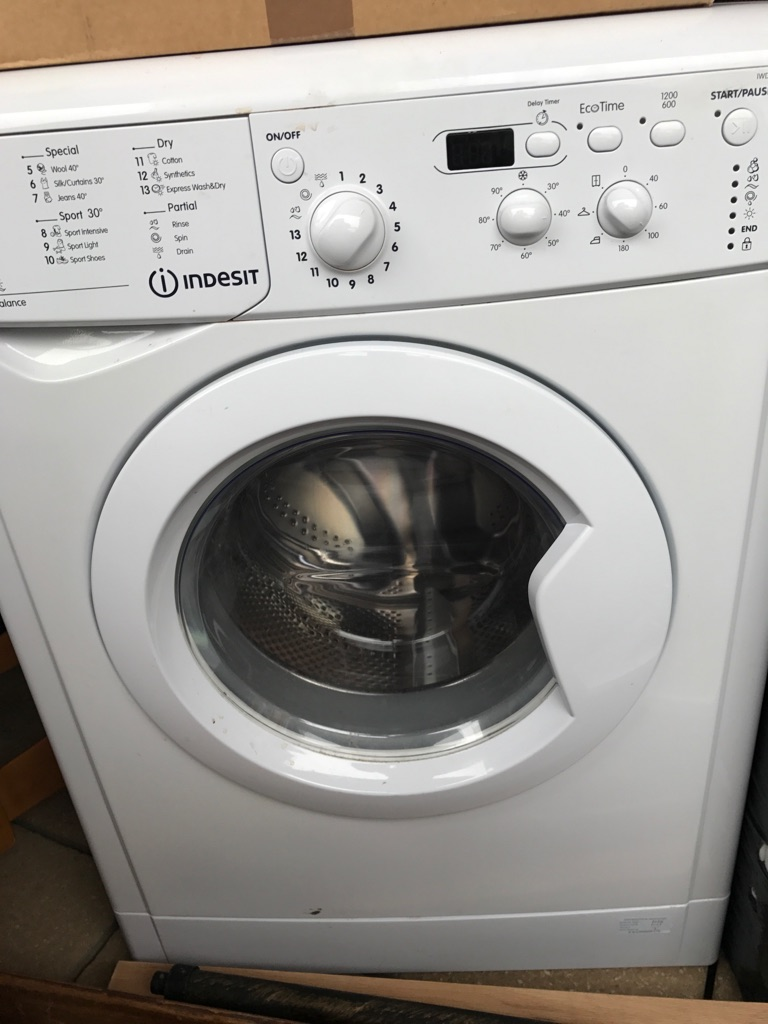 """Indesit"" Washing machine with dryer"