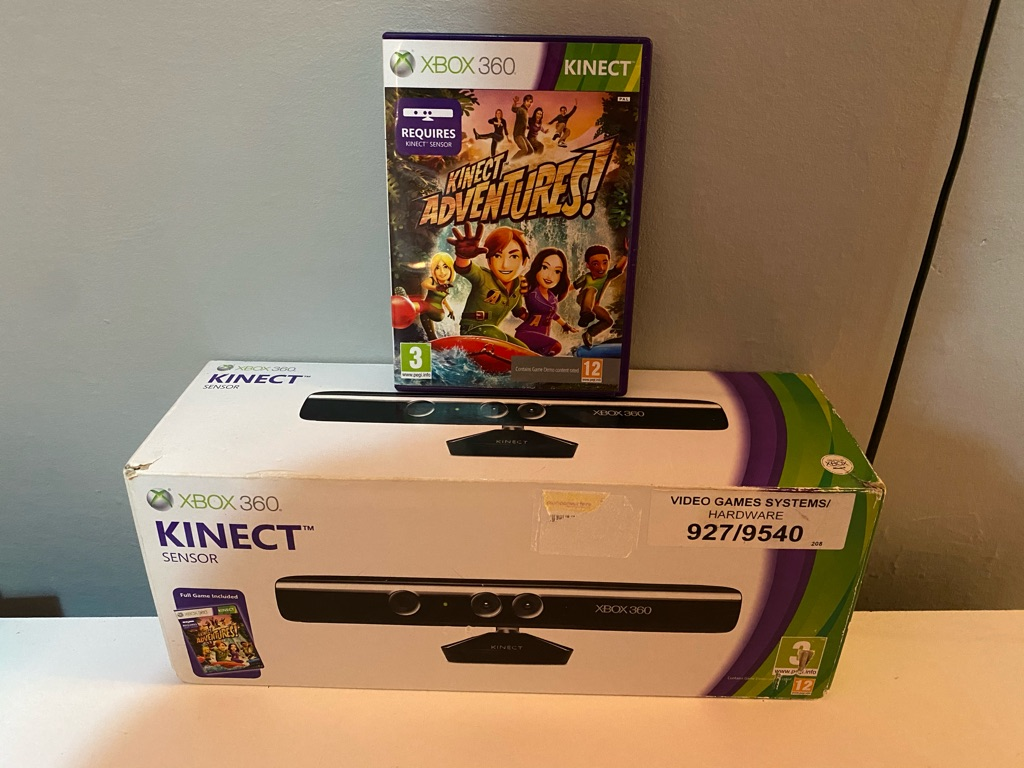 Xbox 360 Kinect Brand new in box with game