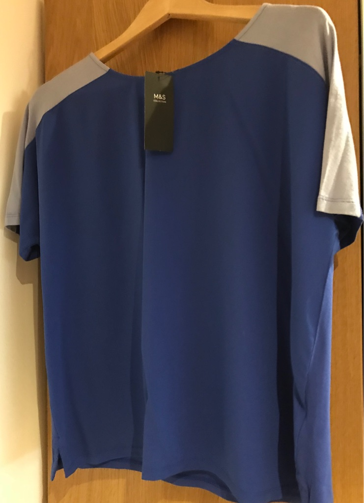 Blue Marks and Spencer's Women's Top