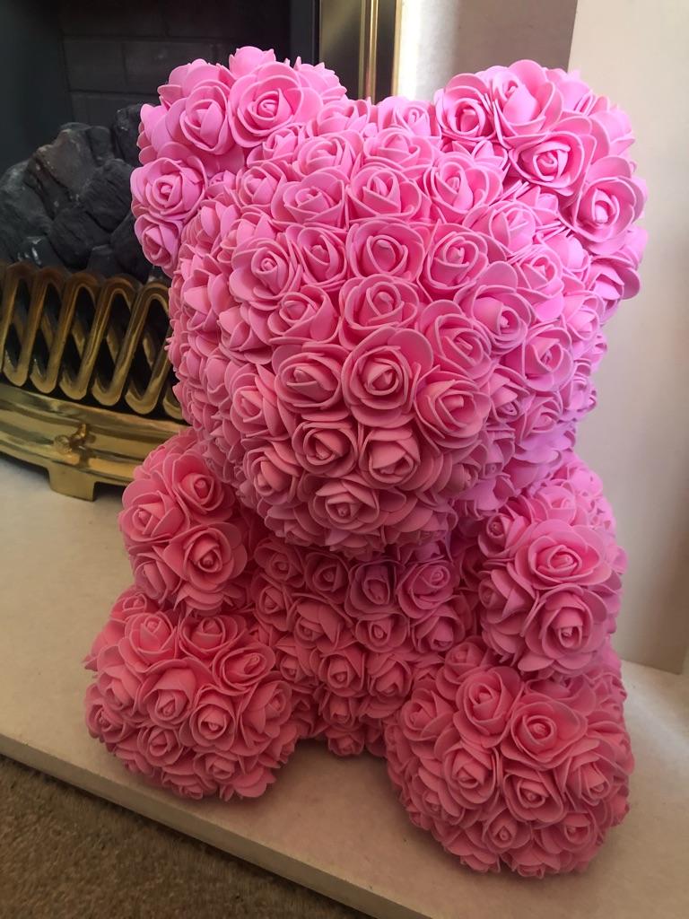 Forever rose bear