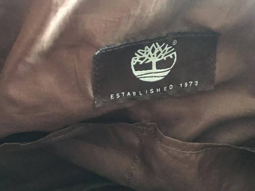 Vintage timberland leather bag