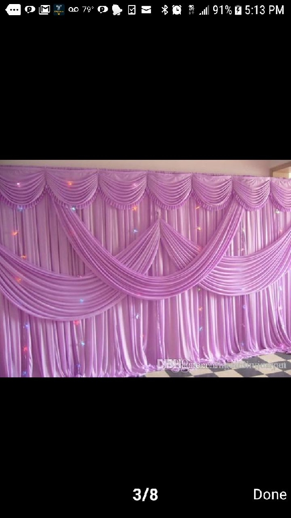 Gala Draping and Decorations