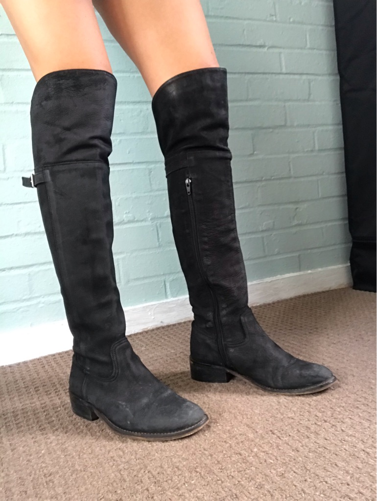 Over knee high boots