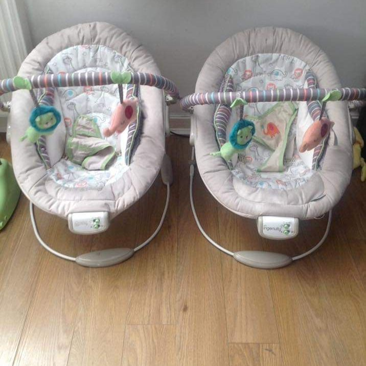 Comfort and harmony bouncy chairs