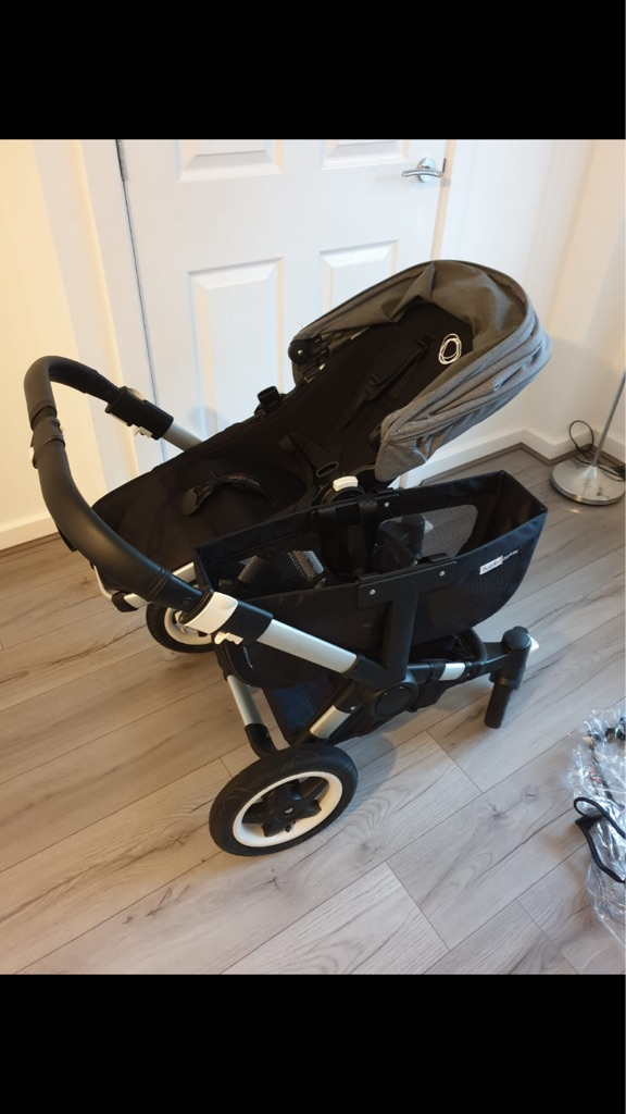 Bugaboo Donkey grey and black