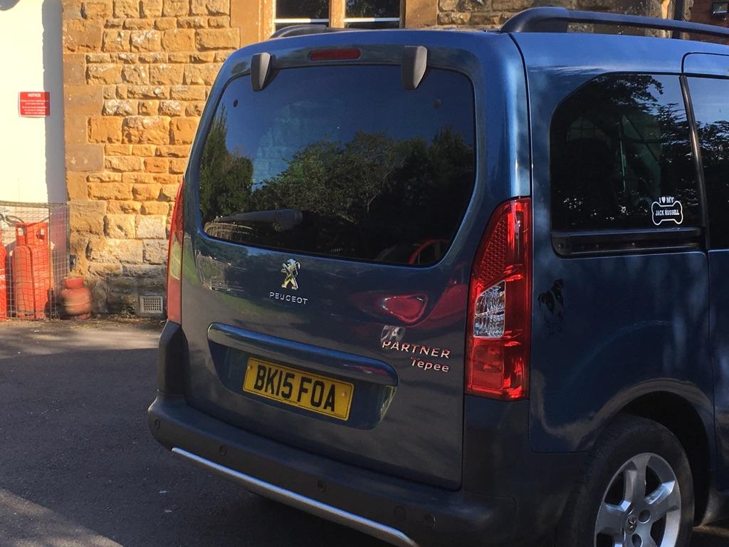 Peugeot partner tuppee