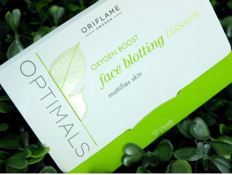 Face blotting tissues Oriflame
