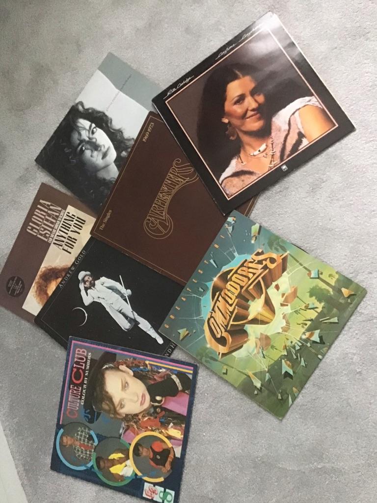 7 Vinyl Albums