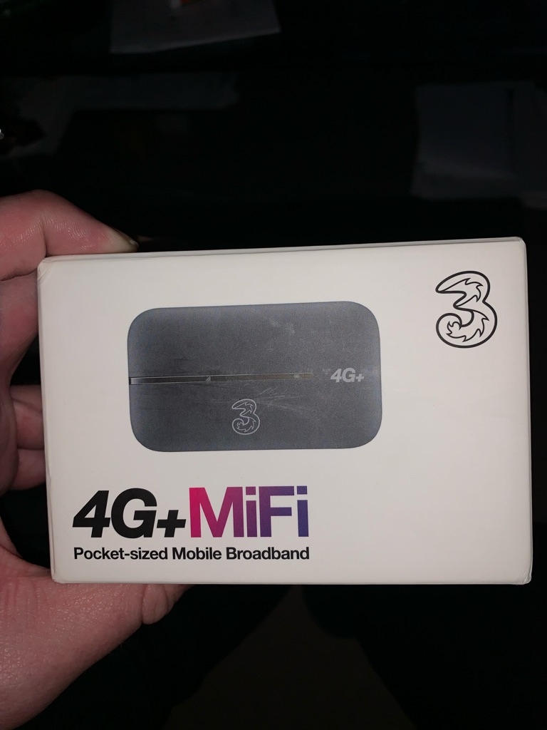 Unlocked 3 mobile wifi router
