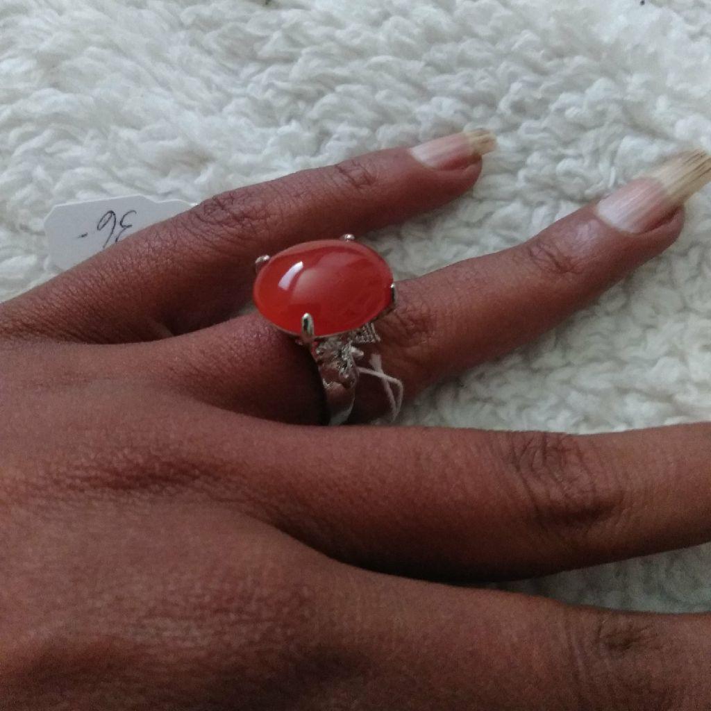 925 Silver Jade Ring