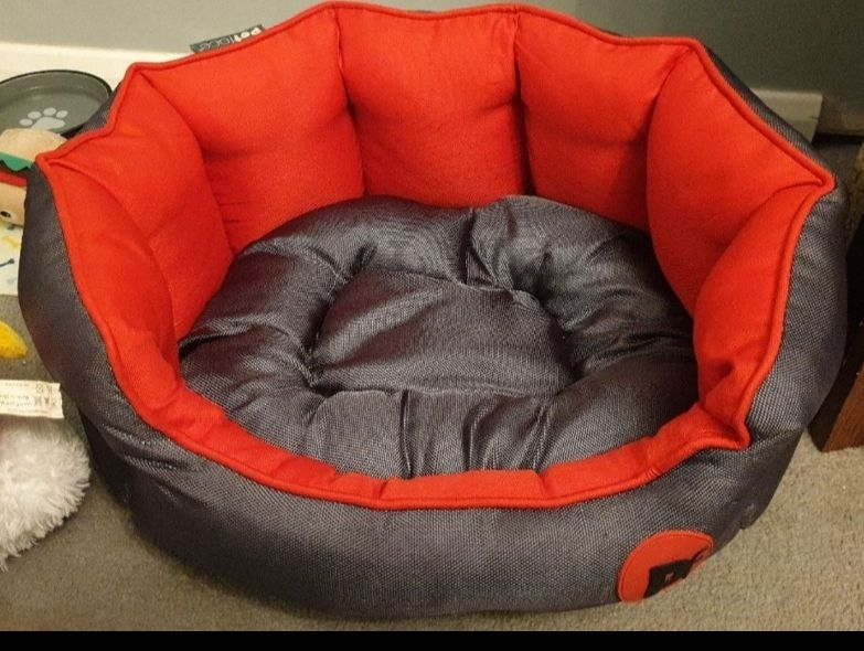 pet face  reversible dog bed small