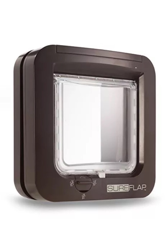🐈 Excellent Condition - SureFlap Microchip Cat Flap Security Indoor/Outdoor - RRP £79