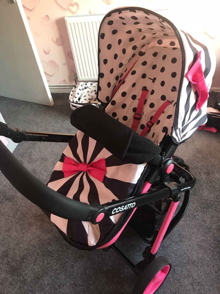 Cosatto giggle 2 3in1 travel system / pram