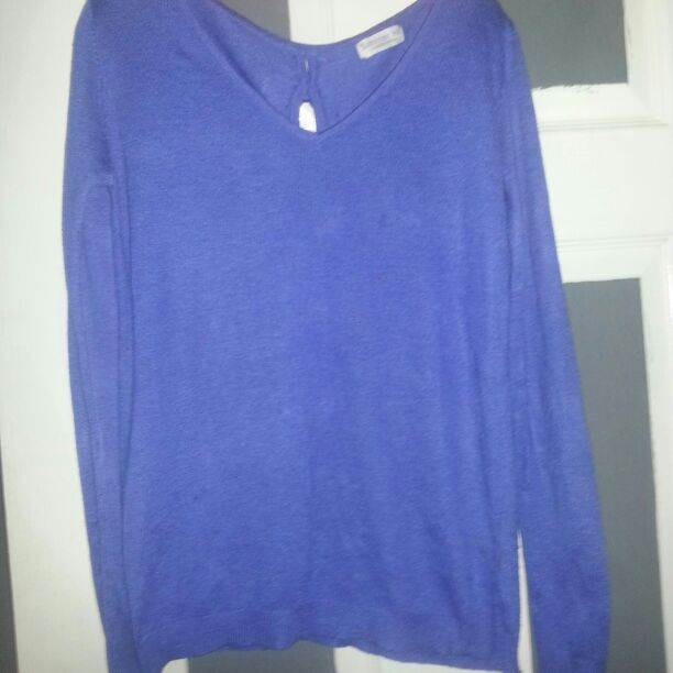 Ladies summer jumper with BOWS all down the back