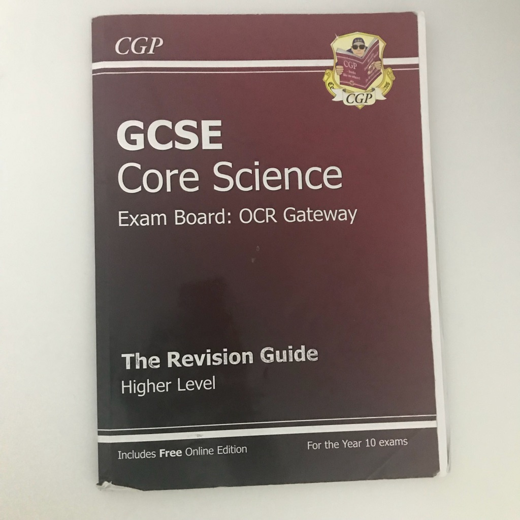 CGP OCR Gateway Core Science Book