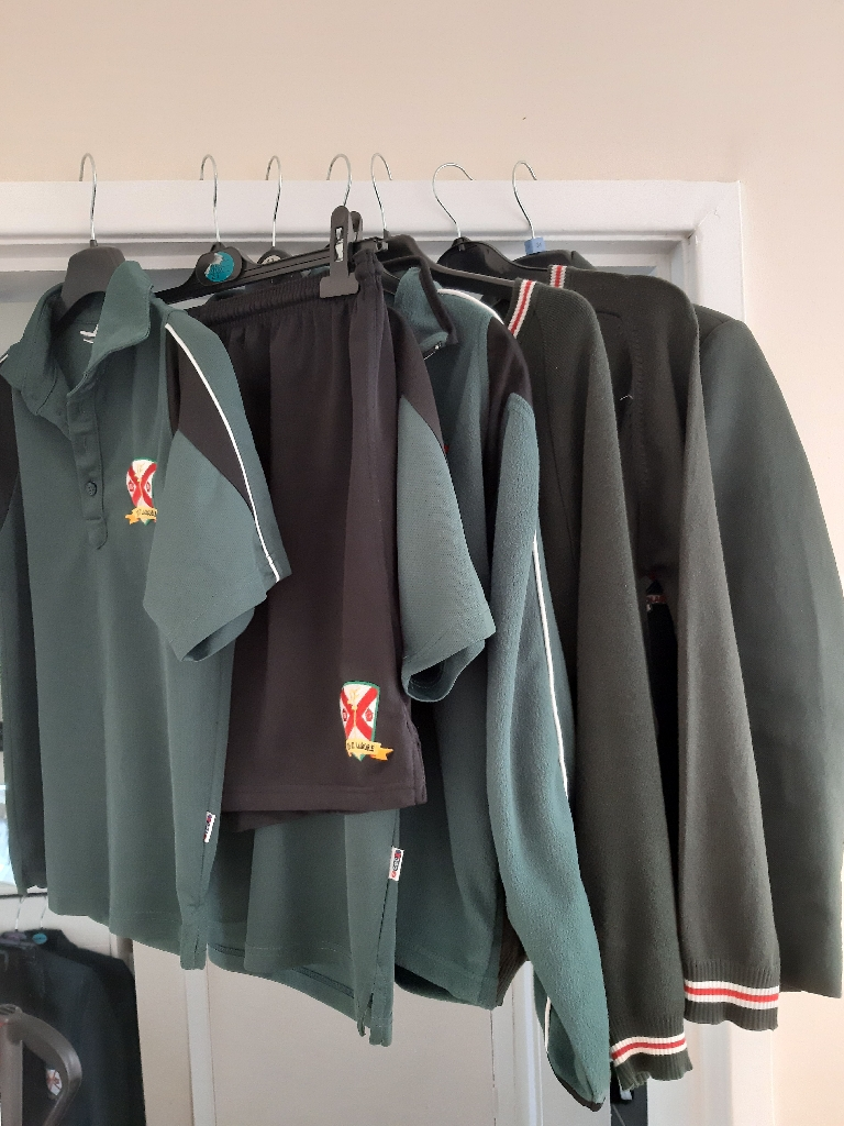 St Patrick's school uniform