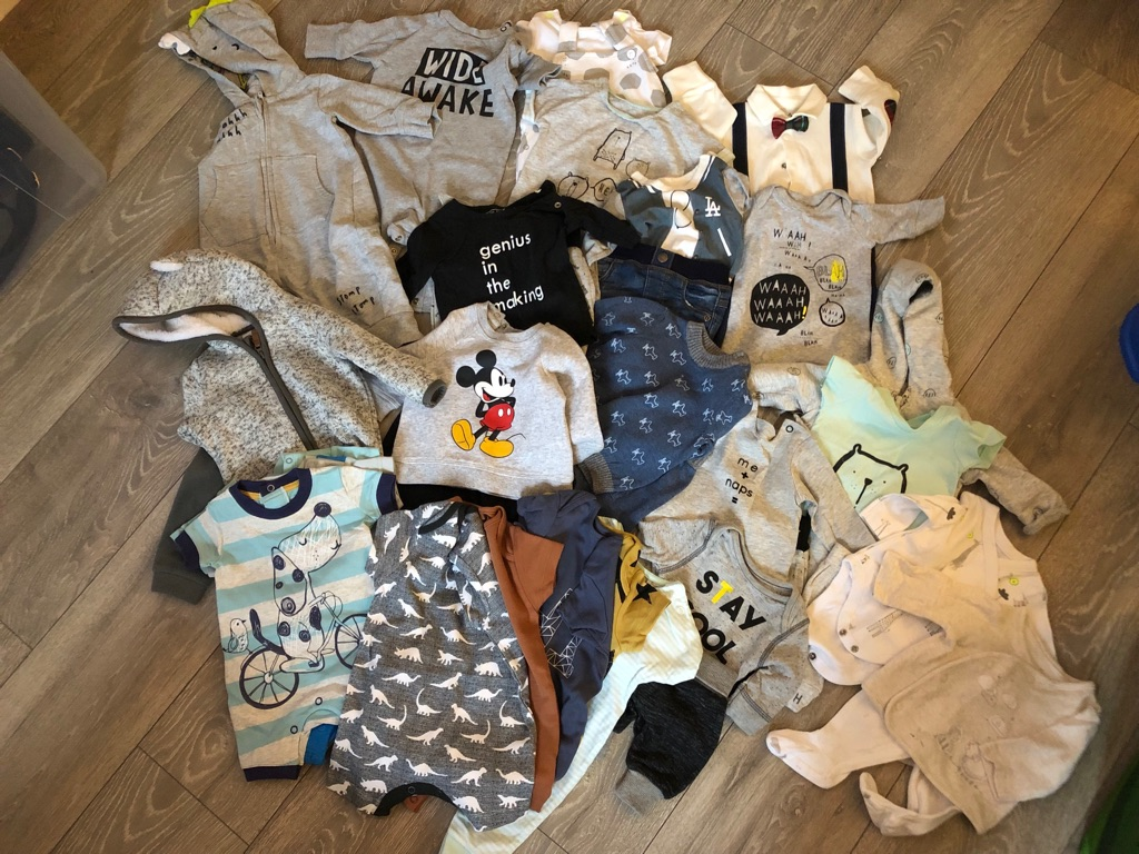 Boys clothes bundle newborn - 0-3 months