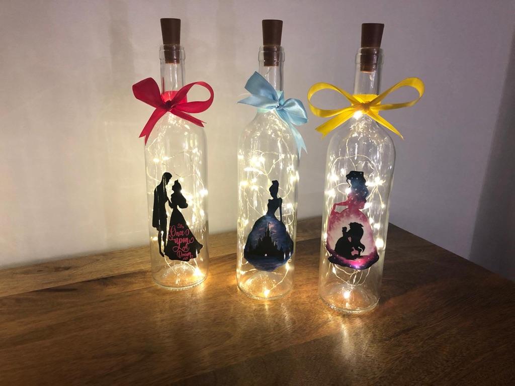LED Character Wine Bottles
