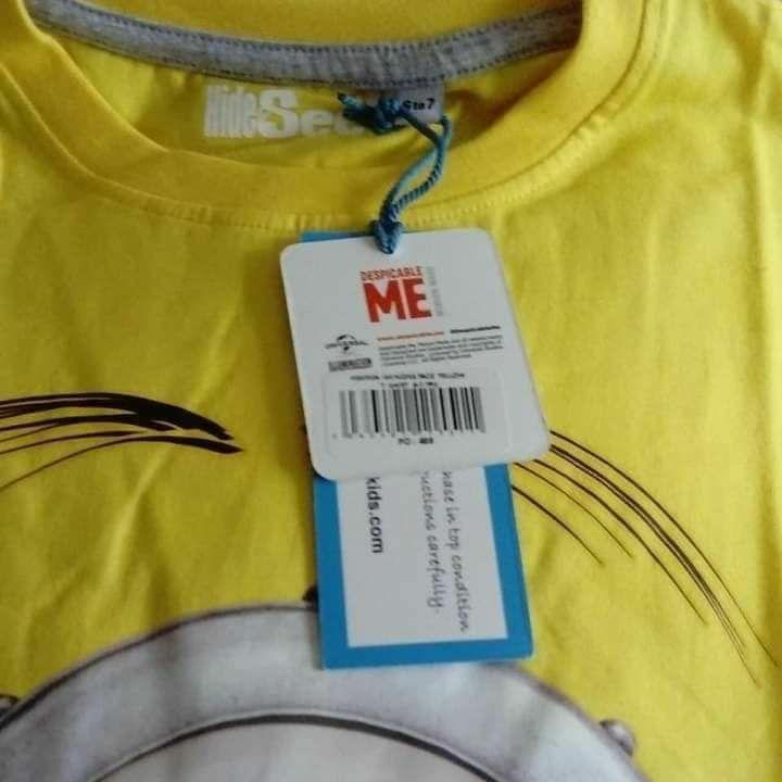 Hide & Seek Minions Boy's T-Shirt, Yellow,RRP£13