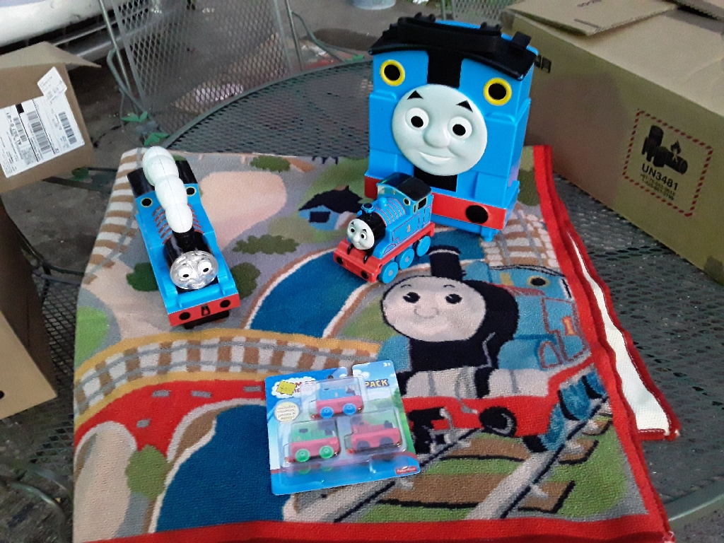 Thomas the Train and a few accessories