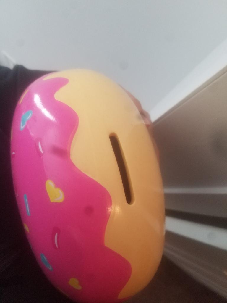 Donut Piggy Bank