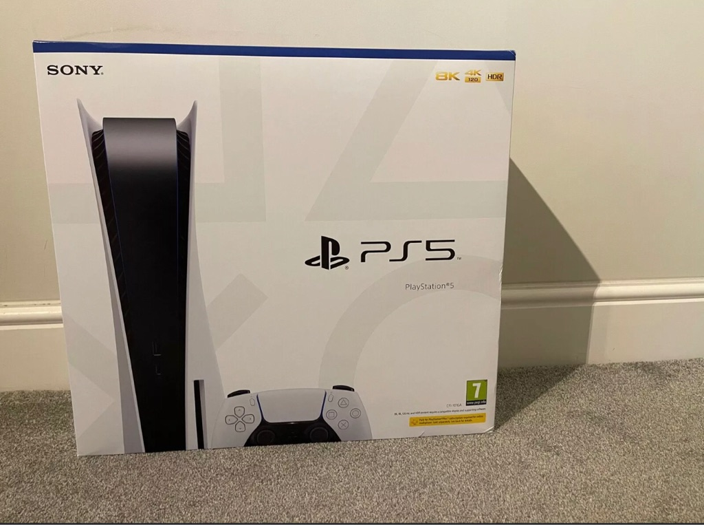 PS5 disk (brand new)