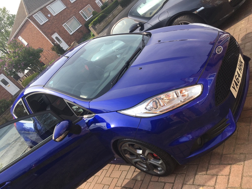 2015 Ford Fiesta 1.6 eco boost ST 2 3dr