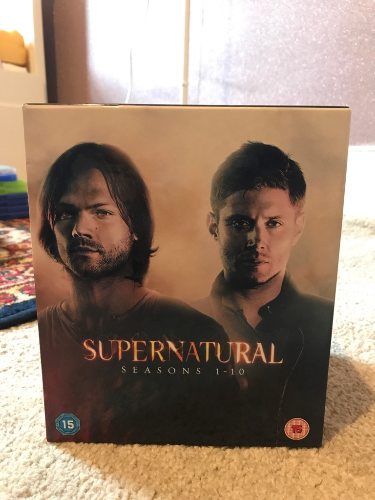 Supernatural DVD Box Set Seasons 1-10