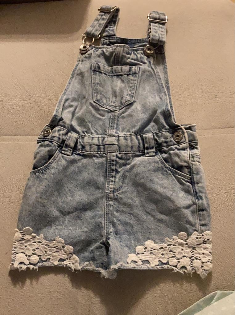 Baby girl dungaree 12-18