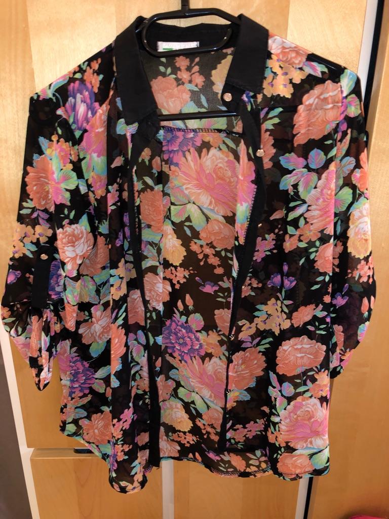 Floral Long sleeve shirts