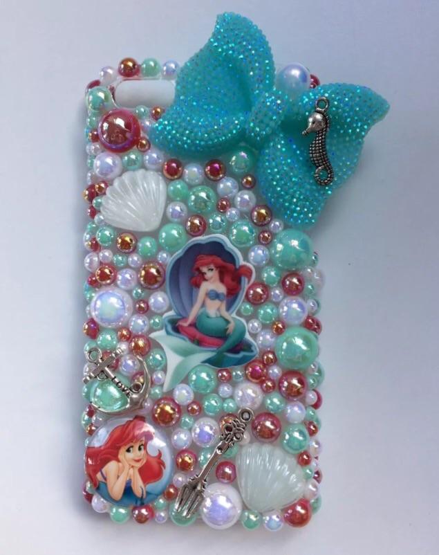 Handmade Ariel themed iPhone 5c case