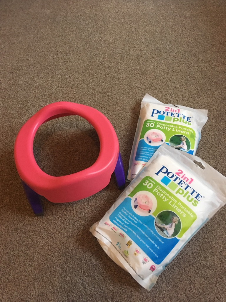 Potty Plus Potty and liners