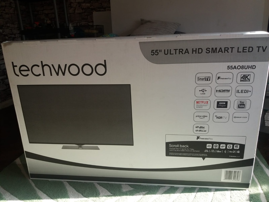 "55"" Techwood Tv"